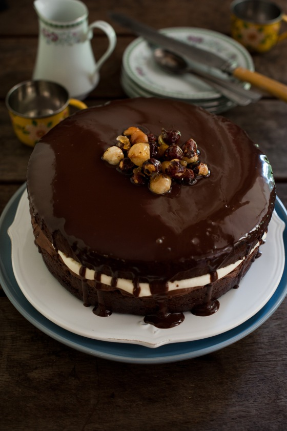 Choc mud cake with besan flour