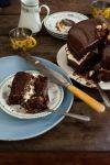 Gluten free Chocolate mud cake made with besan flour