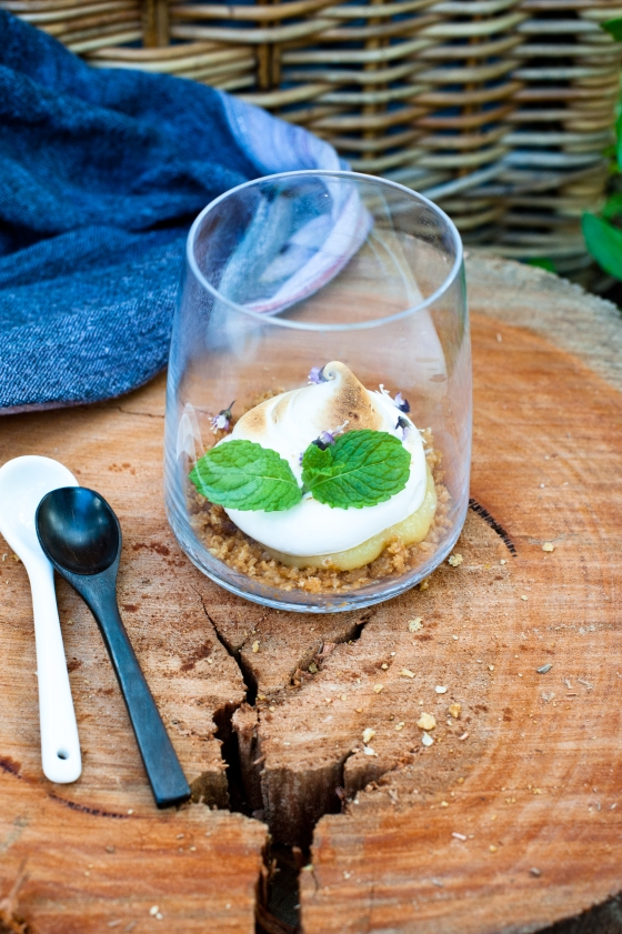 ANZAC biscuit meringue pie