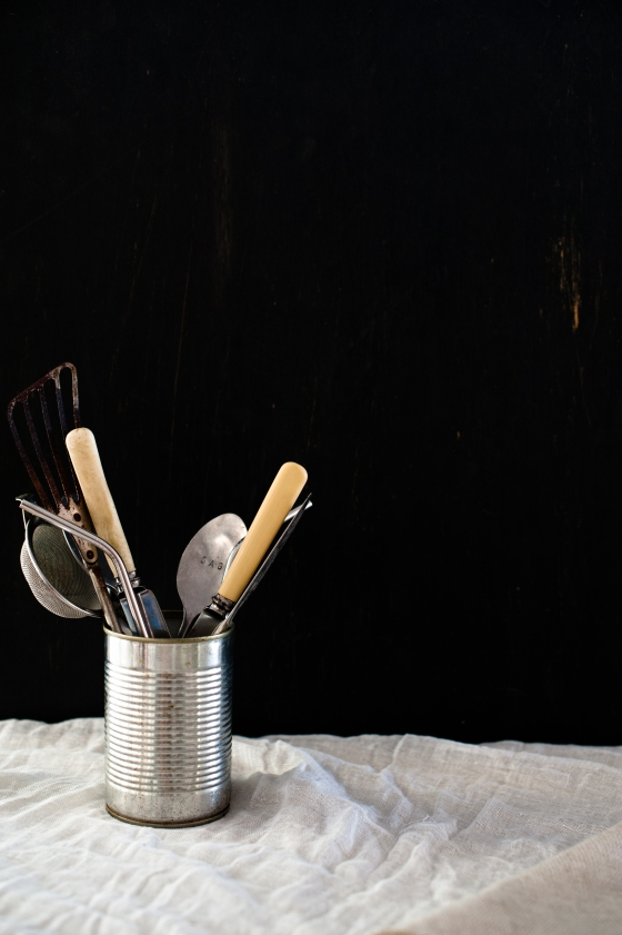 can & utensils
